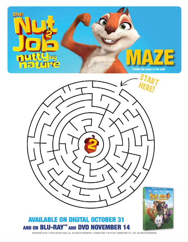 The Nut Job 2 Maze