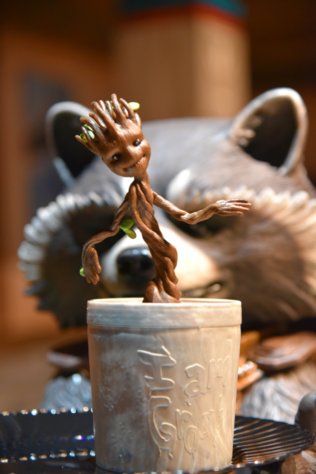 Baby Groot Sipper