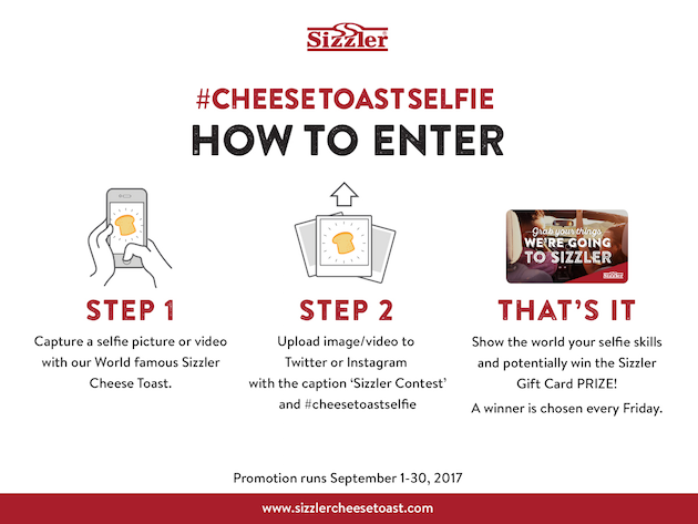 Cheese Toast Selfie How To Enter