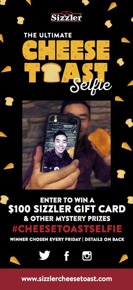 Cheese Toast Selfie
