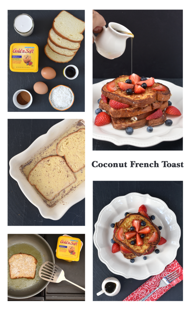 Coconut French Toast Instructions