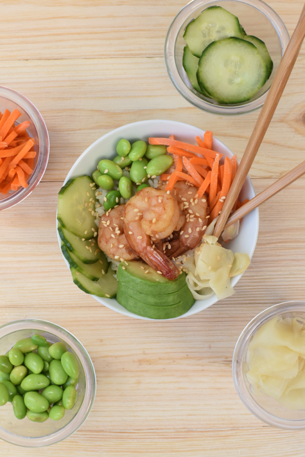 DIY Poke Bowl