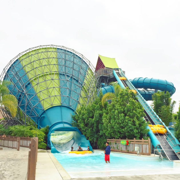 Inner Tube Water Slide