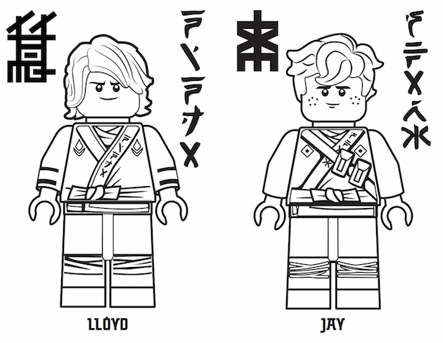 180 Free Printable Lego Coloring Pages Ninjago