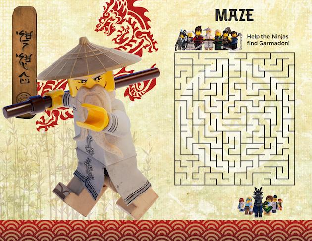 LEGO NINJAGO Maze