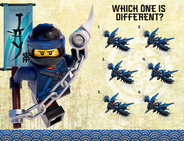 LEGO NINJAGO Printable Activity