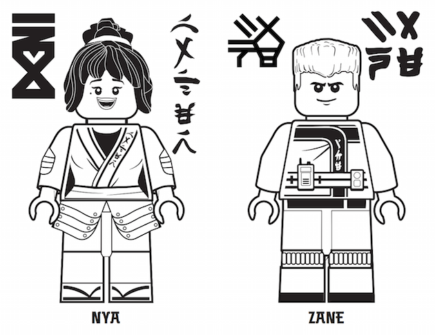 Ninjago Movie Coloring Pages Titlermedicin Website