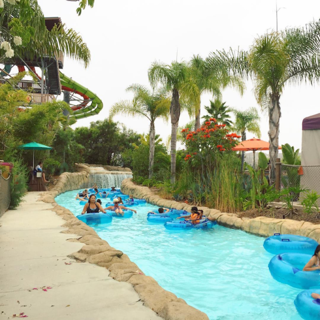 Lazy River at Water Park