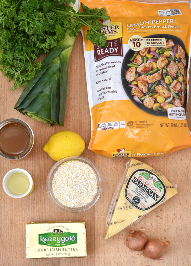 Lemon Pepper Risotto Ingredients