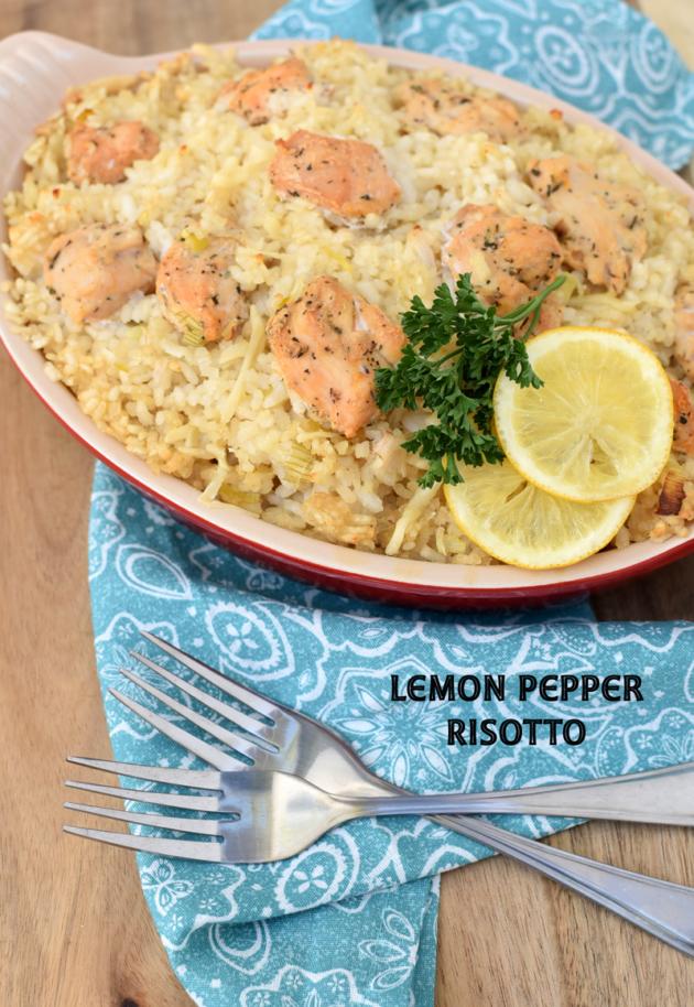 Lemon Pepper Risotto Recipe