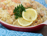 Lemon Pepper Risotto With Chicken