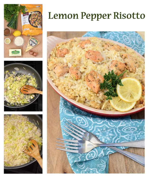 Recipe Lemon Pepper Risotto
