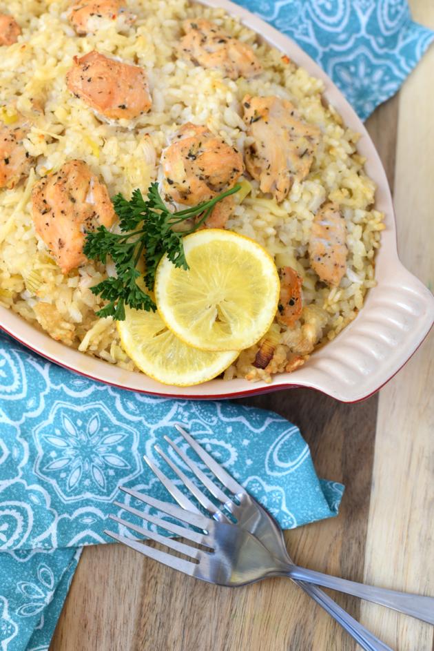 Recipe for Lemon Pepper Risotto