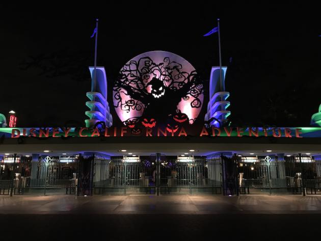 Halloween at Disney California Adventure Park