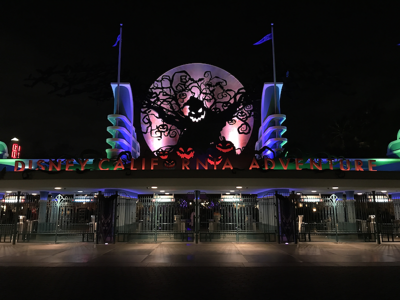 Halloween at Disney California Adventure Park