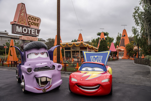 Mater and Lightning McQueen Costumes
