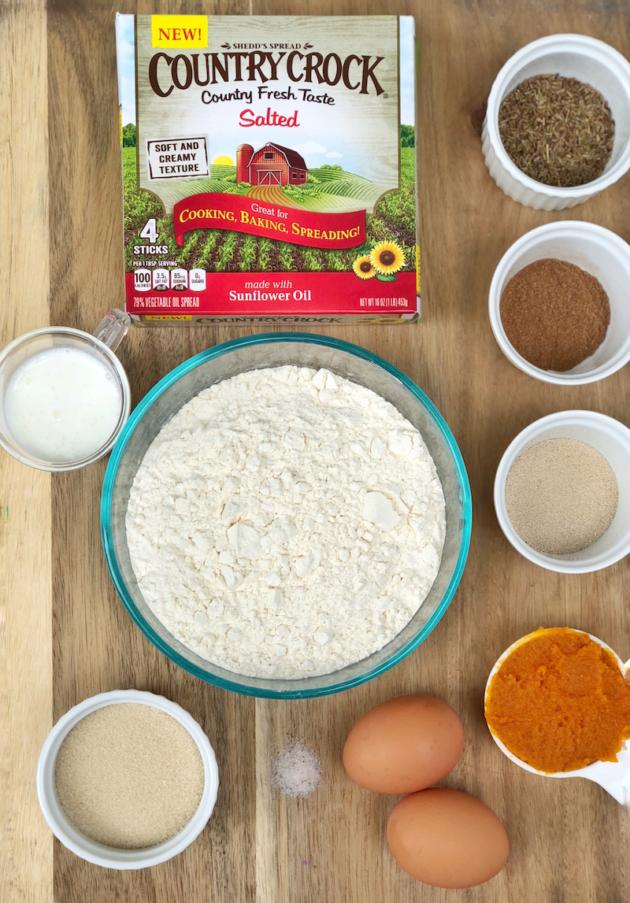 Pan de Muertos Ingredients