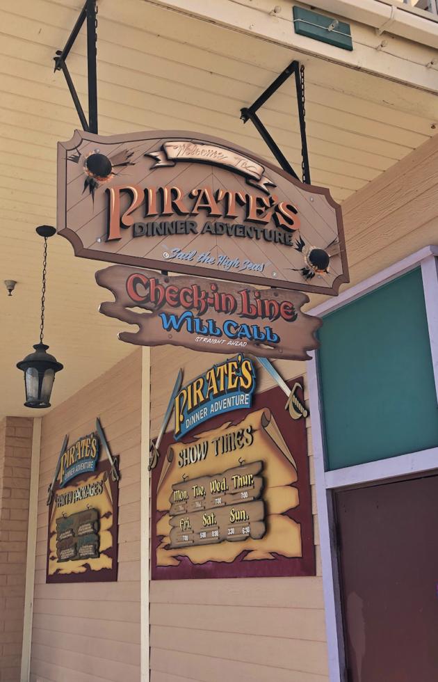 Pirates Dinner Adventure