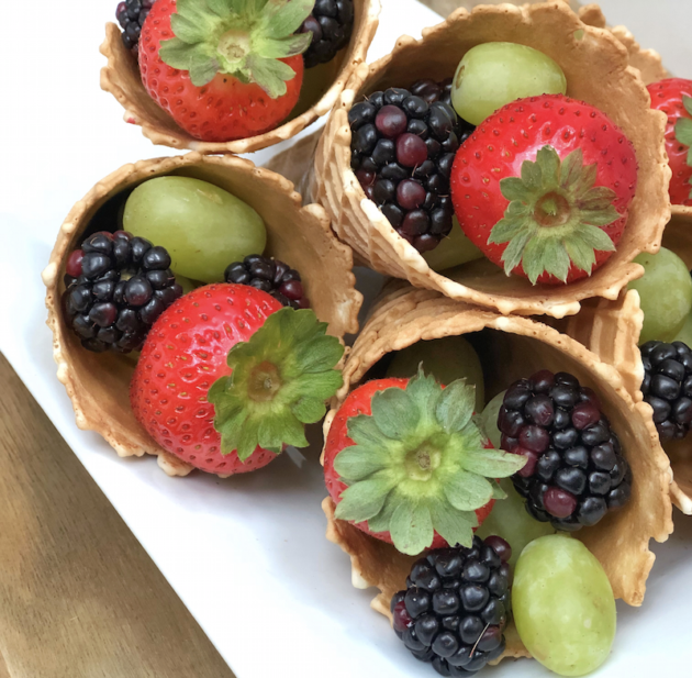 Recipe Fruit Cones