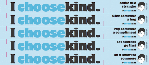 Choose Kind Paper Chains