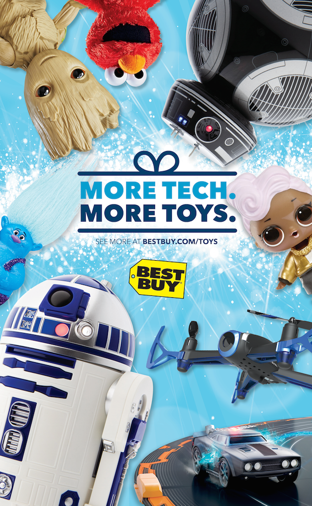 Holiday Toys at Best Buy