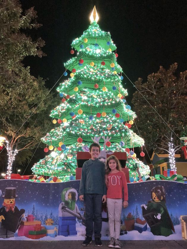 Kids LEGO Christmas Tree