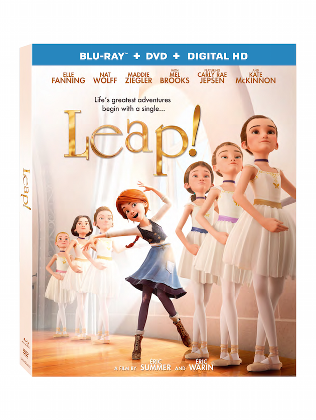 Leap Movie Blu-ray