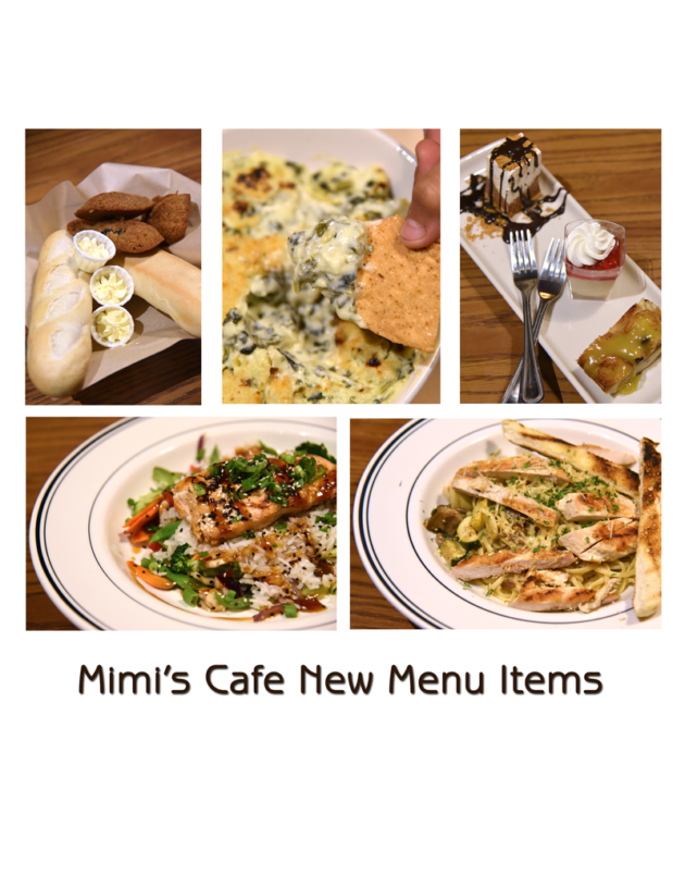 Mimi s  Cafe Introduces 20 New Menu Items
