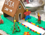 Orange County School of Arts Gingerbread House