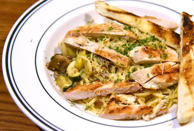 Provencal Veggie Pasta With Chicken