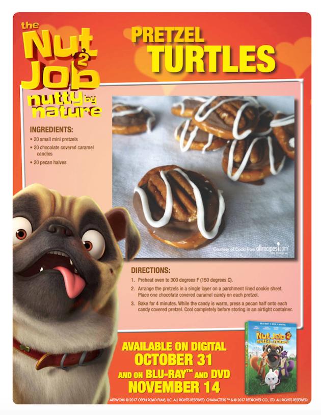The Nut Job 2 Pretzel Turtles