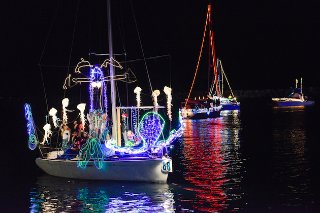 Dana Point Harbor Boat Parade of Lights