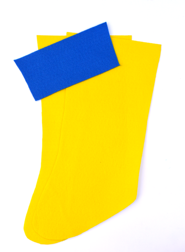 Felt Stocking Cut Out