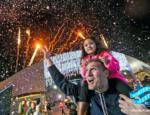Fireworks at Winter Fest OC