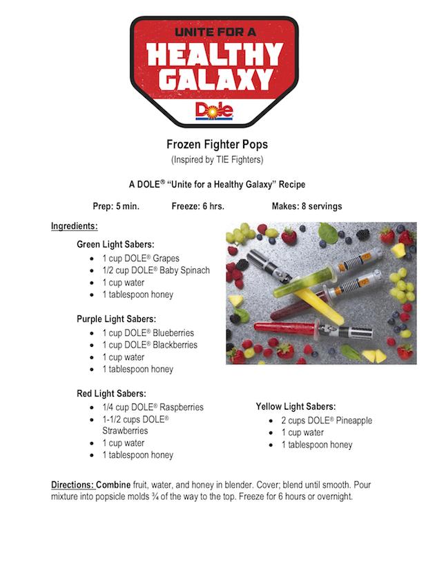 Frozen Fighter Pops Recipe