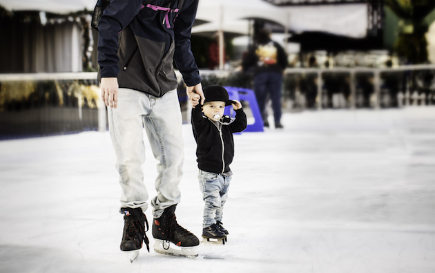 Ice Skating at Winter Fest