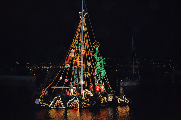 King Harbor Marina Holiday Boat Parade