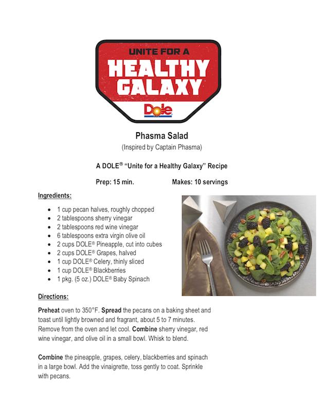 Phasma Salad Recipe