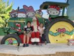 Santa at Tanaka Farms