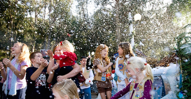 Snow at Winter Fantasy