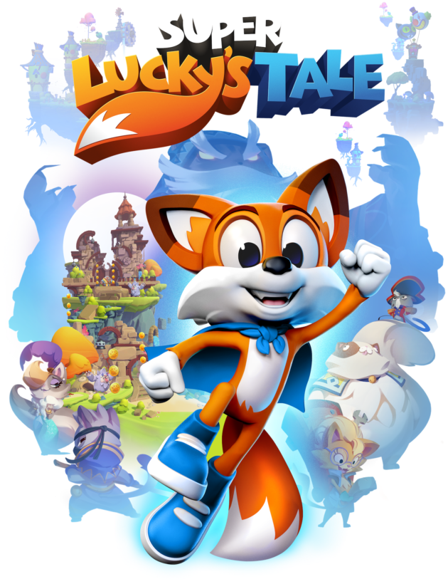 Super Luckys Tale Poster