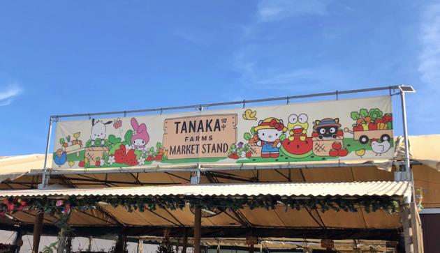 Tanaka Farms Market Stand