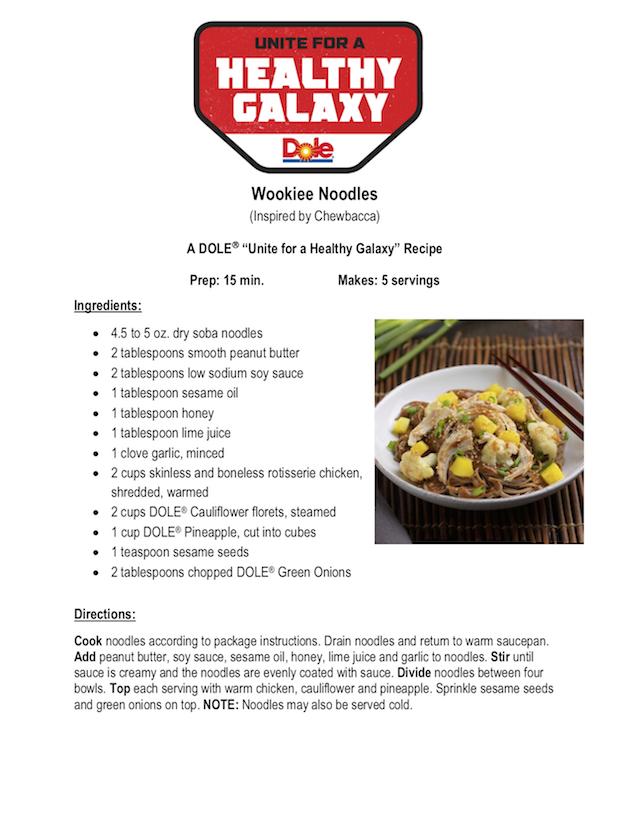 Wookiee Noodles Recipe