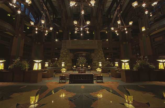 Disneys Grand Californian Hotel Lobby