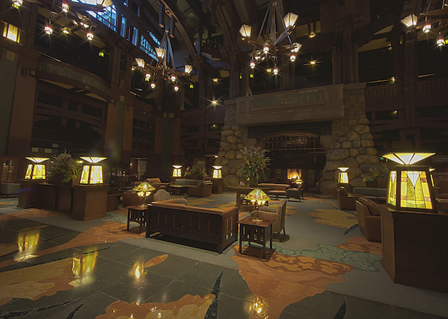 Disneys Grand Californian Hotel and Spa Lobby