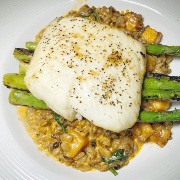 Hearth Roasted Halibut