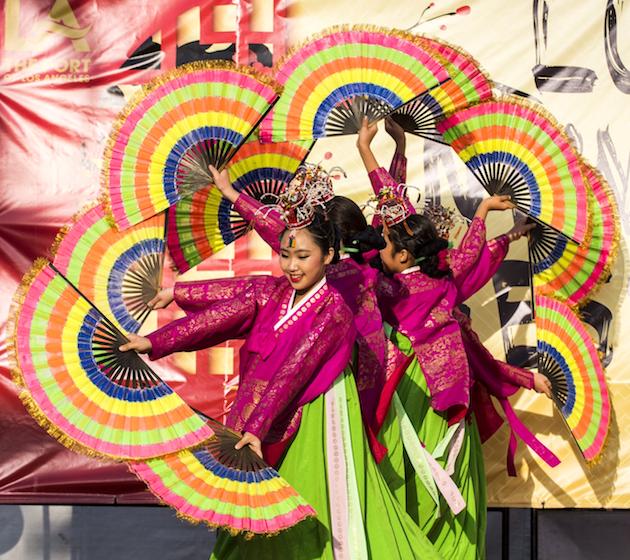 Lunar New Year Dancers Port of LA