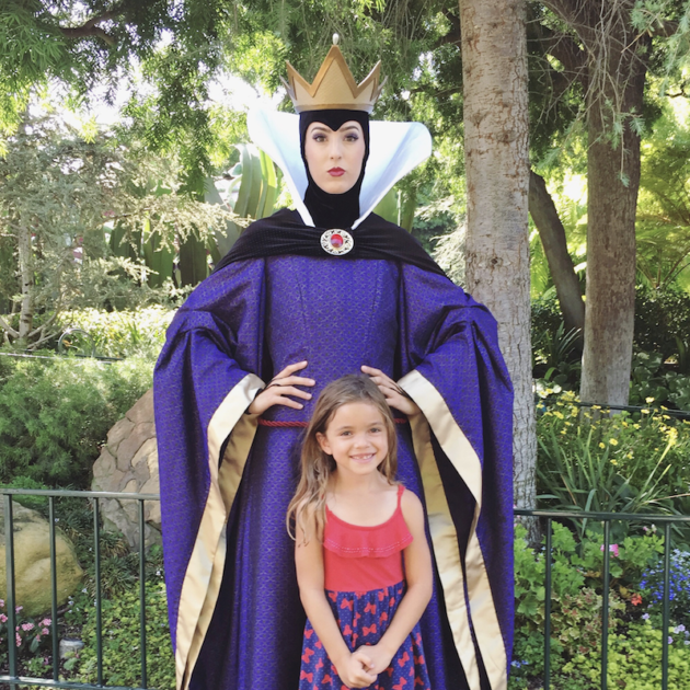Queen at Disneyland