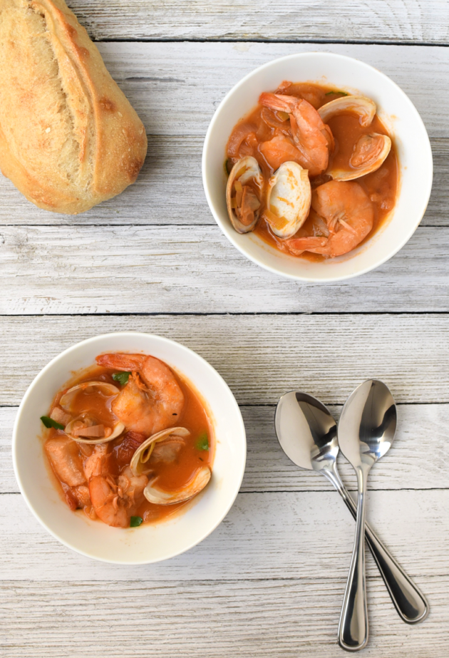 Seafood Stew With Sourdough