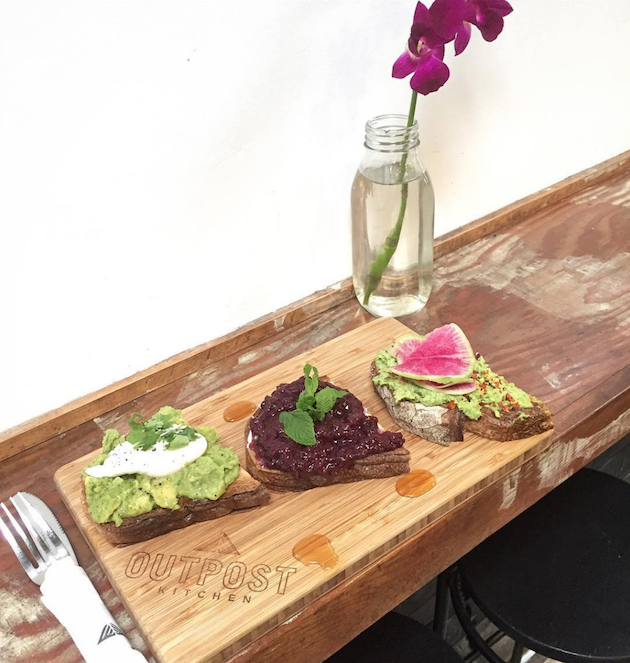 Avocado Toast Outpost Kitchen